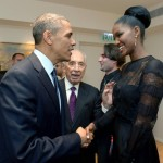 Barack Obama e Yityish Aynaw