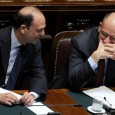 Angelino Alfano ed Enrico Letta